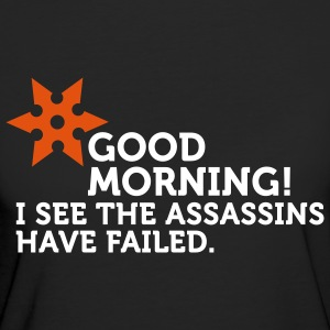 I See The Assassins Have Failed (2c) T-shirt - T-shirt ecologica da donna