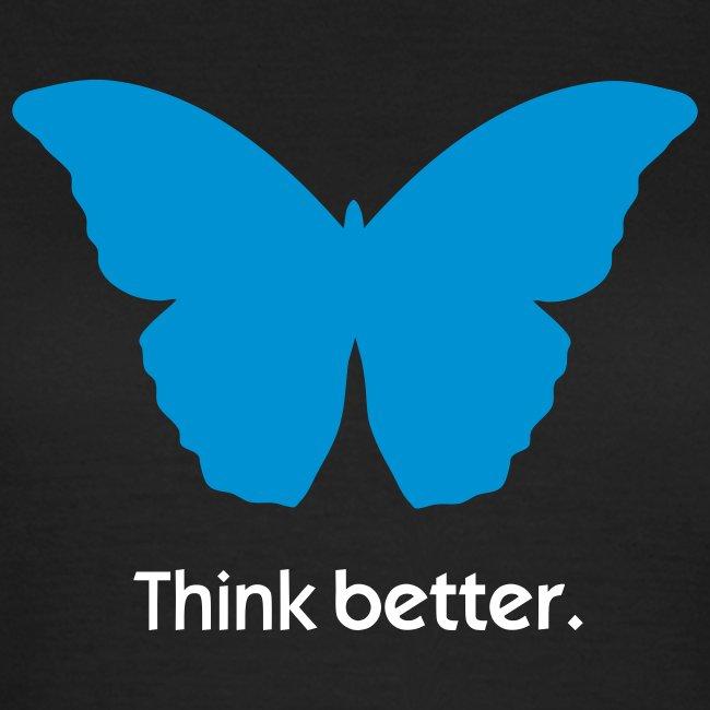 Think Better MorphOS, blau-weiss