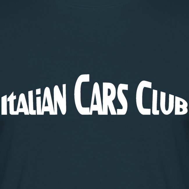 T-shirt Italian Cars Club