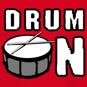 drum_on_a_3c Tee shirts - T-shirt Ado