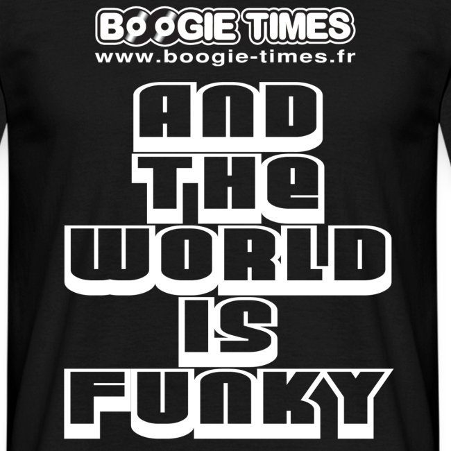 THE WORLD IS FUNKY LARGE