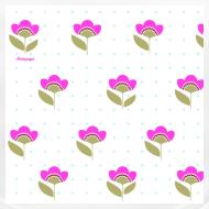 Motif ~ BAVOIR BIO Bébé, fleurs