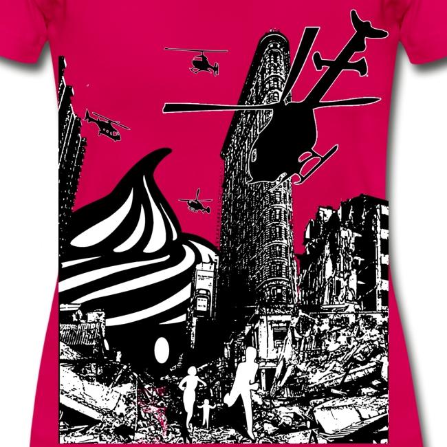 T-shirt Cupcake Invasion Femme