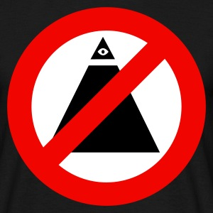 Anti-illuminati - T-shirt Homme