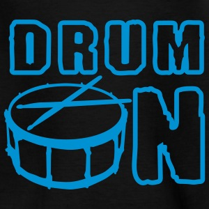 drum_on_a_1c Kinder T-Shirts - Teenager T-Shirt