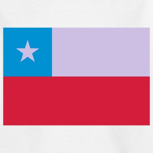 chile flag Kids' Shirts - Teenage T-shirt