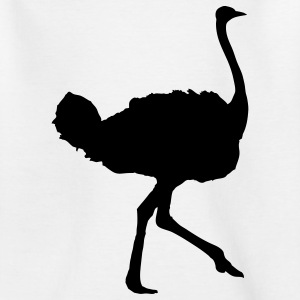 ostrich animal Kids' Shirts - Teenage T-shirt