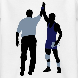 wrestling sport Kinder T-Shirts - Teenager T-Shirt
