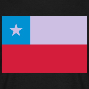 chile flag T-Shirts - Men's T-Shirt