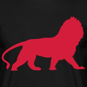 lion animal T-Shirts - Männer T-Shirt