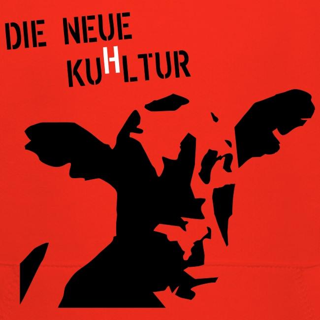 """Kinder-Kapuzenpulli """"KuHltur"""""""
