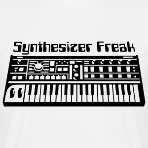 Synthesizer Freak T-shirt - Maglietta da uomo