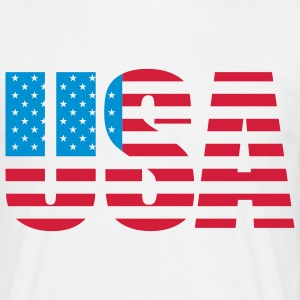 usa_a_2c T-shirts - Herre-T-shirt