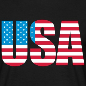 usa_a_3c T-shirts - Herre-T-shirt