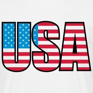 usa_b_3c T-shirts - Herre-T-shirt
