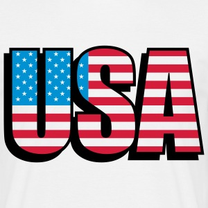 usa_c_3c T-Shirts - Men's T-Shirt