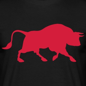 bull bullfighting animal T-shirt - Maglietta da uomo