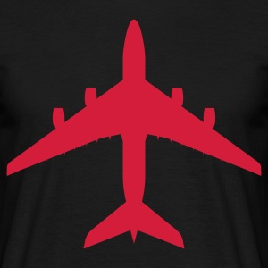 airplane T-shirts - T-shirt Homme