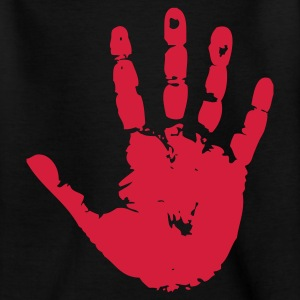 handprint hand print sign T-shirts Enfants - T-shirt Ado