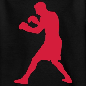 boxer boxing sport Kinder T-Shirts - Teenager T-Shirt