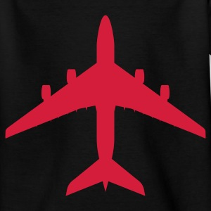 airplane Kinder shirts - Teenager T-shirt