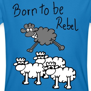 jumping sheep T-shirt - T-shirt ecologica da uomo