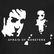 Design ~ Afraid of Monsters T-shirt (Woman)