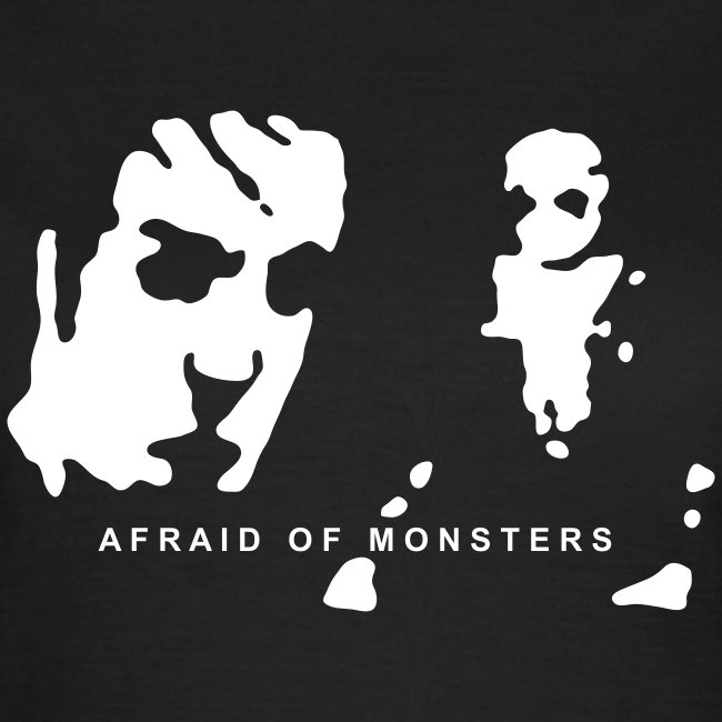 Afraid of Monsters T-shirt (Woman)