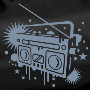 Radio cassette recorder graffiti Bags  - Duffel Bag