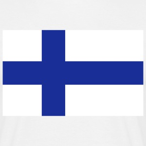 Flag Finland (2c) T-shirts - T-shirt Homme