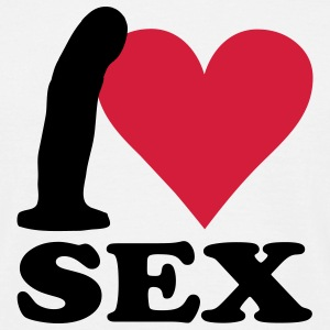 I love Sex T-Shirts - Men's T-Shirt