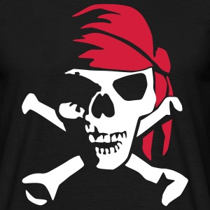 pirate_bones_022011_b_2c T-Shirts - Men's T-Shirt