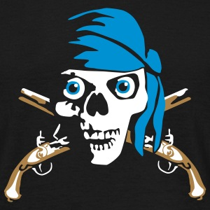 pirate_pistols_022011_d_3c T-Shirts - Men's T-Shirt
