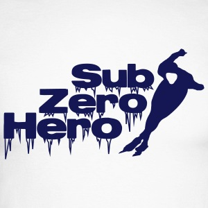 Sub Zero Hero - patineur, patinage - T-shirt baseball manches longues Homme