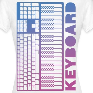 Keyboard - Keyboard - Frauen T-Shirt