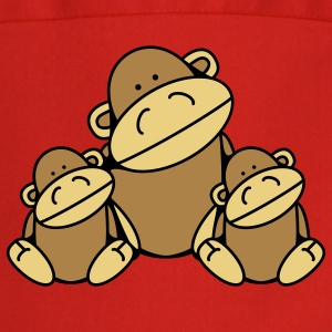 Three Monkeys  Aprons - Cooking Apron