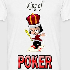 kingpoker T-Shirts - Herre-T-shirt