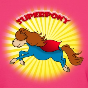 Superpony T-Shirts - Frauen Bio-T-Shirt