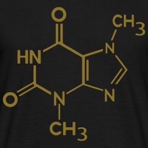Chocolate theobromine organic compound T-Shirts - Men's T-Shirt