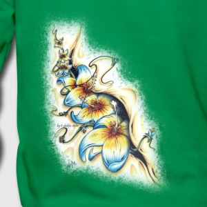 surfflowers from the inside Sweat-shirts - Sweat-shirt à capuche Premium pour hommes