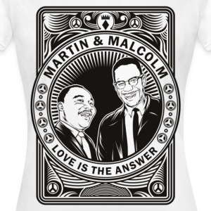 Malcolm and Martin - Women's T-Shirt