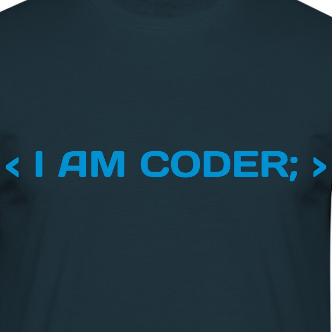I Am Coder t-shirt