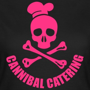 cannibal catering vector T-Shirts - Frauen T-Shirt