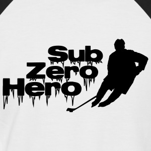 Sub Zero Hero - hockey player, ice hockey - Men's Baseball T-Shirt