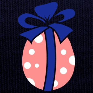 A colorful Easteregg with ribbon Caps & Hats - Winter Hat