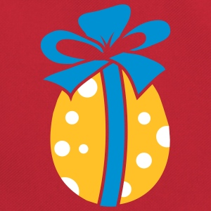 A colorful Easteregg with ribbon Bags  - Retro Bag