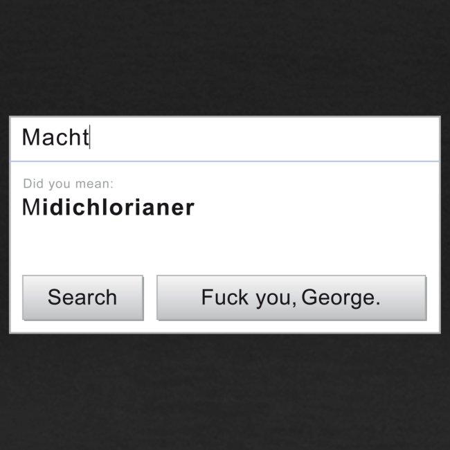 F*ck you, George.