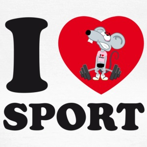 I love Sport - Frauen T-Shirt