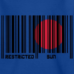 Restricted Sun, Dim. restreint, code à barres. Tee shirts Enfants - T-shirt Ado
