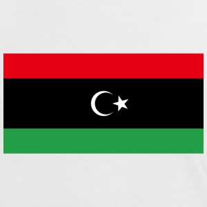 Kingdom of Libya Flag (1951-1969) - Women's Ringer T-Shirt